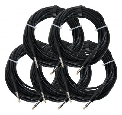 Pronomic Stage INSTS-10 jack cable 10 m Stereo 5 Piece Set