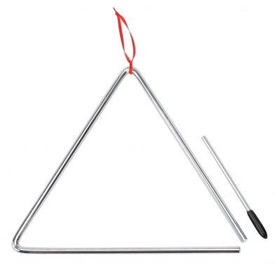 XDrum Triangle with mallet 25 cm
