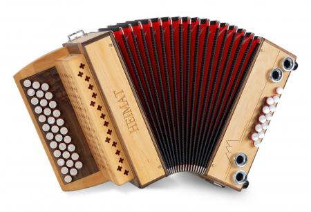Heimat 3/II Harmonika sol-do-fa ontano