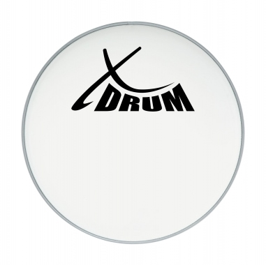 XDrum Pelle Battente Coated Drum Head Calcio 20 ""