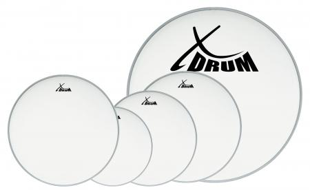 "XDrum Coated Drum Head Set 10"" 12"" 14"" 22"" + 14"""
