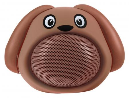 iCutes Bluetooth Speaker - Dog, Brown