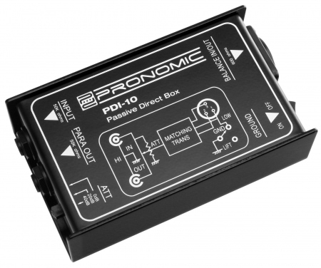 Pronomic PDI-10 Passive DI Box