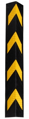 Stagecaptain KS-8010 Protection d'Angle les Garages Bords Coin (Noir/Jaune)
