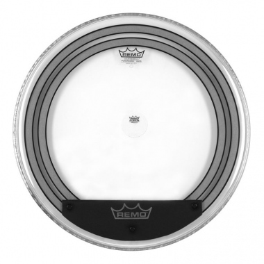 "Remo 22"" Powersonic Clear Bass Drum"