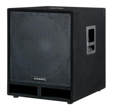 """McGrey PAS-118 18"""" passiver PA Subwoofer Bass Lautsprecher Box 1800 Watt  - Retoure (Zustand: sehr gut)"""