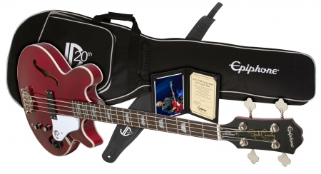 Epiphone Ltd. Ed. 20th Anniversary Jack Casady Bass Outfit