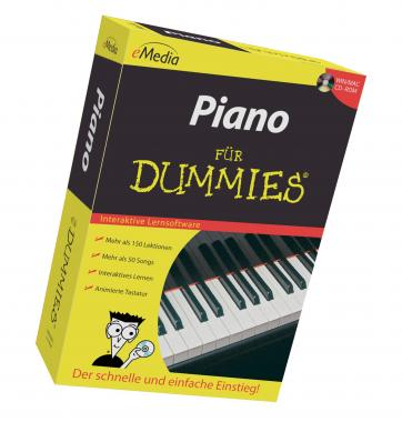 eMedia Piano für Dummies Lernsoftware