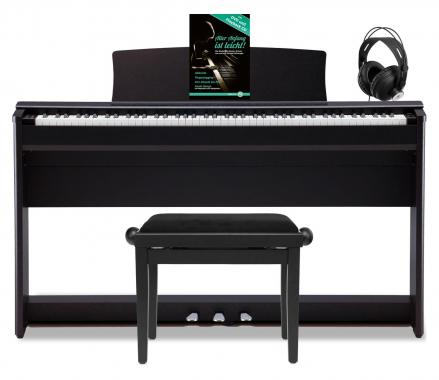 Kawai CL 36 W Piano digital color negro satinado (incluidos banqueta y auriculares)