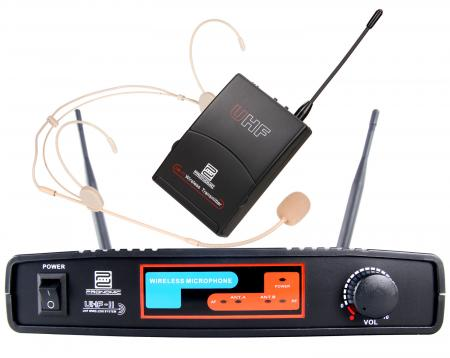 Pronomic UBF-11 Pro Sport draadloze set (Headset) K8 Headset plus UBF-11 zakzenderset