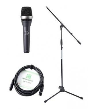 AKG D 5 Mikrofon Set+ Ständer+ Kabel