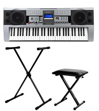 McGrey PK-6100 W Keyboard Set incl. Stand and Bench
