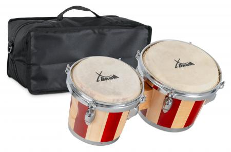 XDrum Bongo Retro SET con borsa