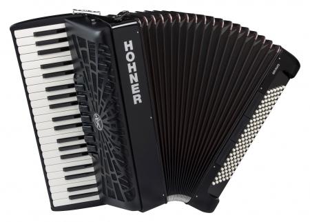 Hohner Bravo III 120 Akkordeon schwarz