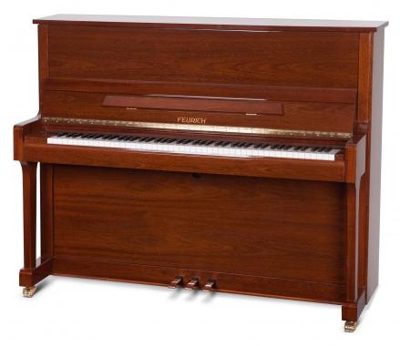 Feurich Mod. 122 Universal Silent Piano Nussbaum