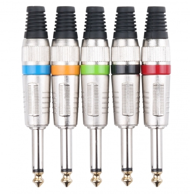 Pronomic JPLUG Color Jack - 5-Pack