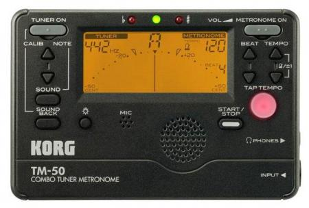 Korg TM-50 TunerMetronom schwarz
