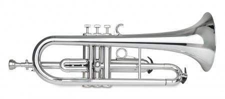 Classic Cantabile TROMBA Flicorno in plastica argento