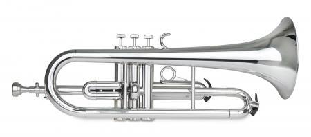 Classic Cantabile TROMBA Kunststoff Flügelhorn Silber
