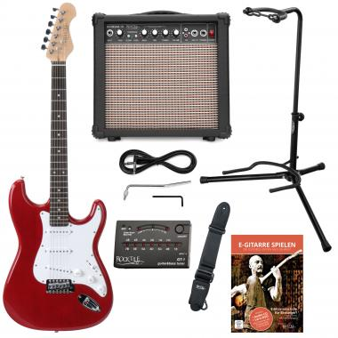 Rocktile Sphere Electric Guitar Classic Set Red