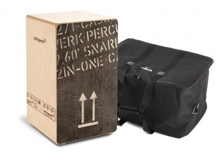Schlagwerk CP404 BLK Cajon Black Edition Large Set inkl. Tasche