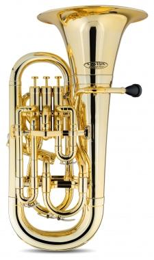 Classic Cantabile MardiBrass euphonium Sib en plastique doré