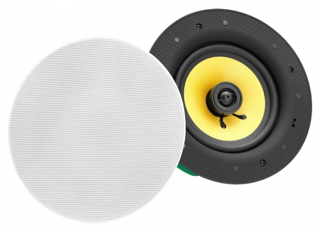 Pronomic CLS-880 WH High-End Kevlar Altoparlante incasso a 2 vie 320 Watt