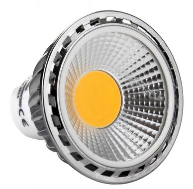 Showlite LED Spot GU10W05K30D 5 watts, 330 lumens, culot de l'ampoule GU10, 3000 kelvins