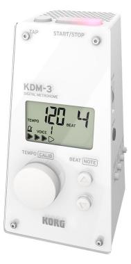 Korg KDM-3 Metronom, Weiß