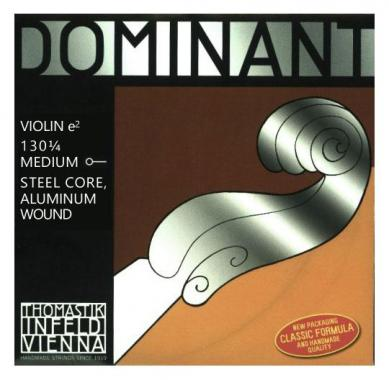 Thomastik Dominant Saite für Violine E 1/4