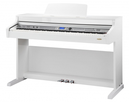 Classic Cantabile DP-410 WH piano électrique blanc brillant