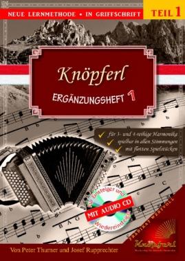 Knöpferl Ergänzungsheft 1 + CD