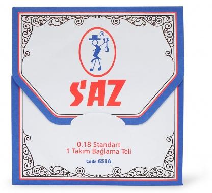 Classic Cantabile Oriental Series OS SAZ-Saiten Satz Kurzhals