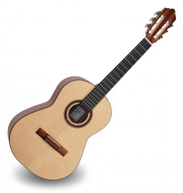 Calida Cadete Konzertgitarre 3/4 Fichte Hochglanz - Made in Portugal
