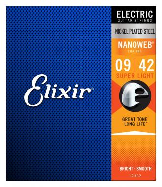 Elixir Electric Nanoweb Super Light