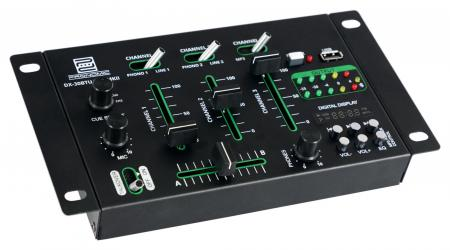 Pronomic DX-30BTU USB MKII DJ Mixer with Bluetooth