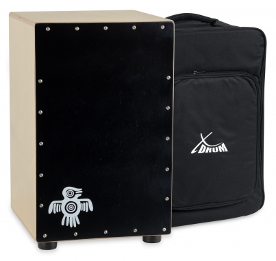 XDrum Cajon, Peruvian, Black wood