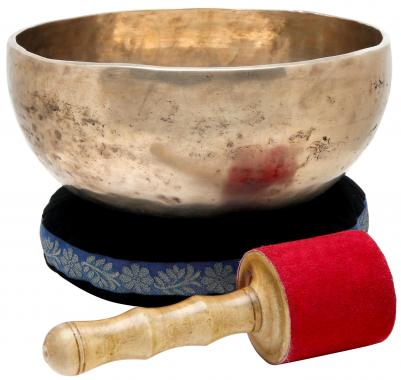 XDrum bol chantant tibétain 22 cm, coussinet compris