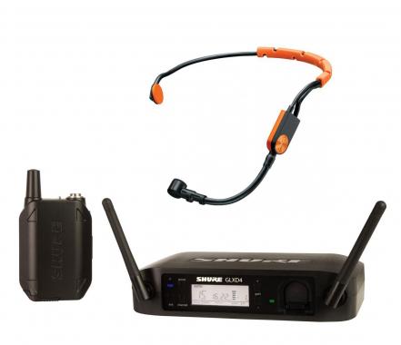 Shure GLXD14/SM31 Headset Funksystem