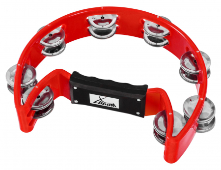 XDrum TM-1 RD Hand Tambourine Red
