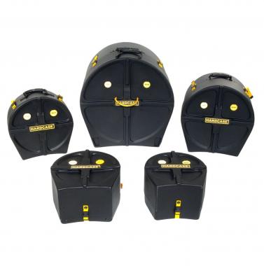 """Hardcase HSTANDARD Drumset Case Set 22"""", 12"""", 13"""", 16"""" & 14"""""""