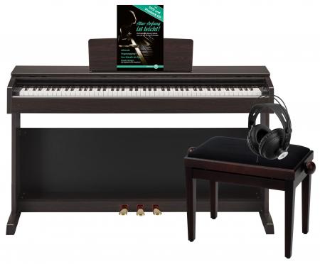 Yamaha YDP-143 R Arius E-Piano Rosenholz Deluxe Set