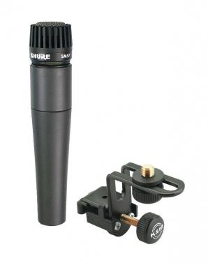 Shure SM 57-LCE Mikrofon + Halter Cajon-Abnahme-SET