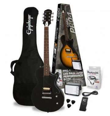 Epiphone PRO-1 Les Paul Jr. Performance Pack EB