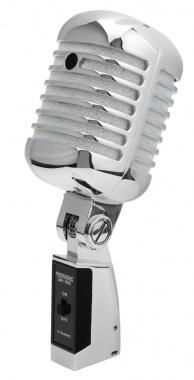 Pronomic DM-66S Elvis dynamische microfoon zilver