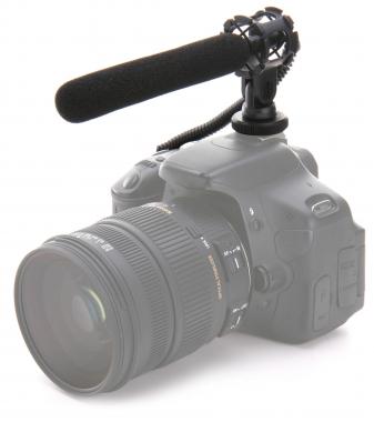 Pronomic SCM-500 Kondensator Richtmikrofon für Smartphone, Camcorder und DSLR Kameras  - Retoure (Zustand: sehr gut)