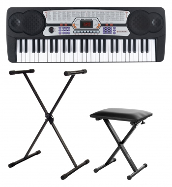 McGrey BK-5410 Beginner Keyboard SET incl. Stand and Bench