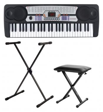 McGrey BK-5410 keyboard para principiantes set incl. soporte + banqueta