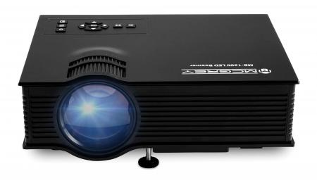 Proyector de vídeo McGrey MB-1500 LED de 800 lúmenes