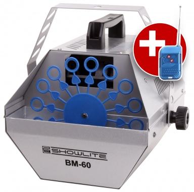 showlite BM-60 macchina per bolle di sapone con telecomando